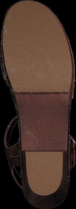 Swedish Hasbeens - Lacy Sandal Cognac/Cognac Sole