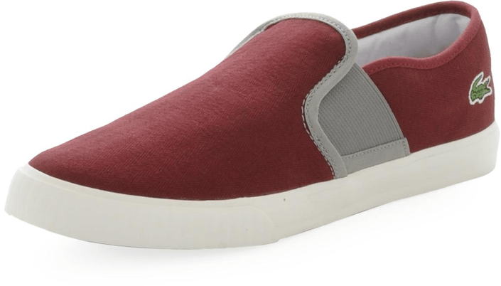 Lacoste - Lombarde Cre Dk Red/Gry