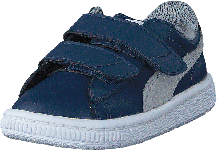 Puma - Basket Classic V Kids Dark Denim