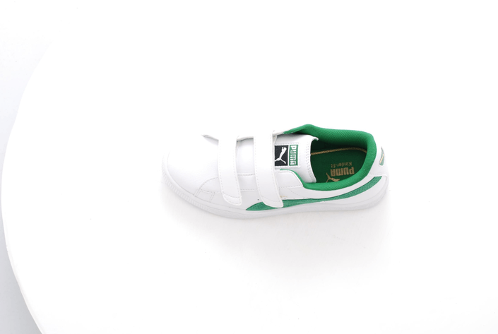 Puma - Basket Classic V Kids Wht/Amazon