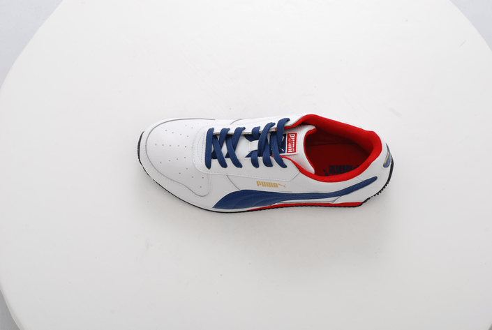 Puma - Fieldsprint L JR Wht/Blue