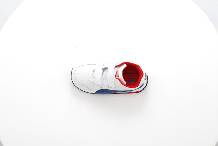 Puma - Fieldsprint L V Kids Wht/Blue