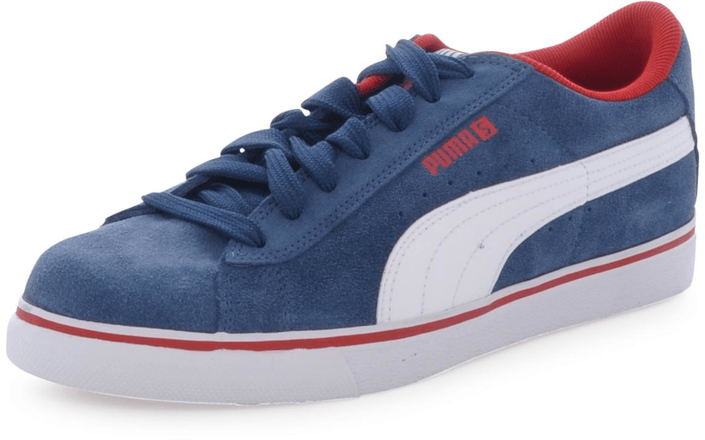 Puma - S Vulc JR Denim/Wht