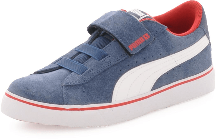 Puma - S Vulc V Kids Denim/Wht