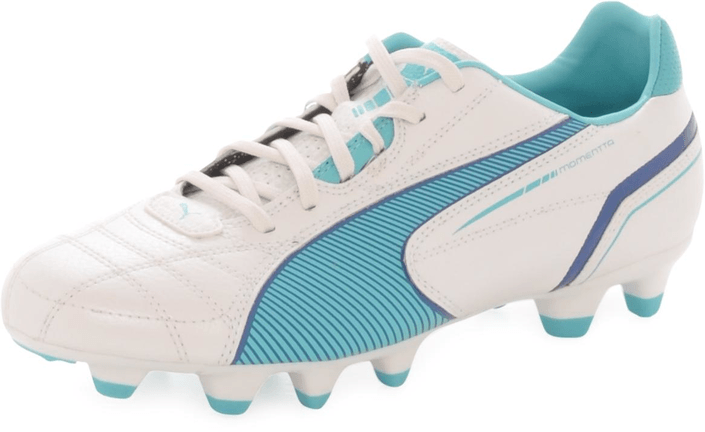 Puma - Momentta FG WN'S Metallic White/Blue