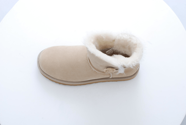 ugg boots mini bailey button sand