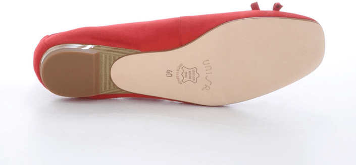 Unisa - Brel 13 KS Kid Suede Red Red