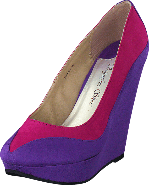Sugarfree Shoes - Joanna Purple