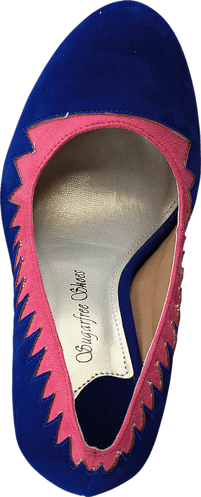 Sugarfree Shoes - Zig Zag Blue