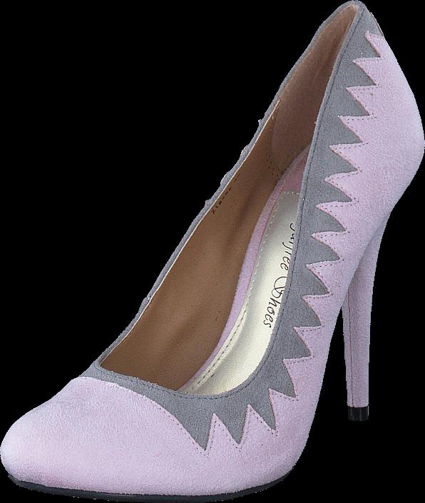 Sugarfree Shoes - Zig Zag Pink