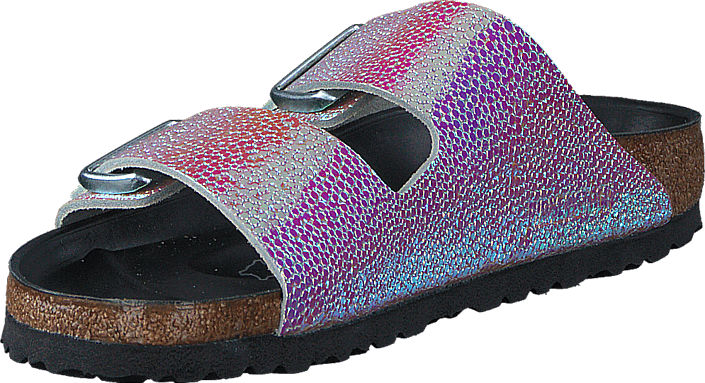 Birkenstock - Arizona Slim Ombre Pearls Silver Black