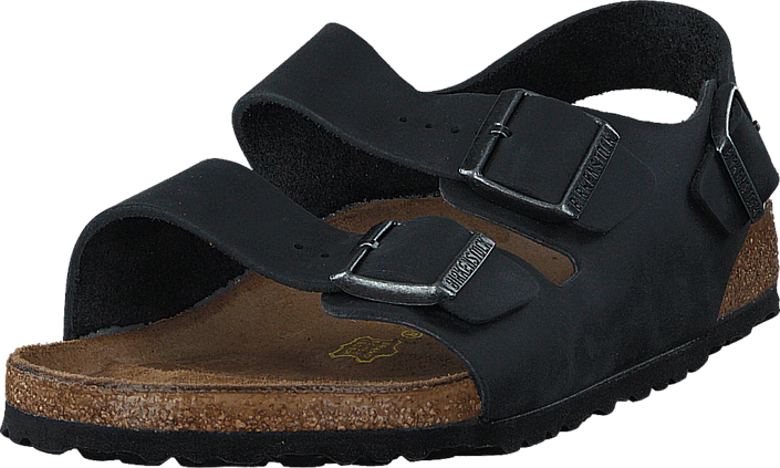 Birkenstock - Milano Regular Black Oiled Leather