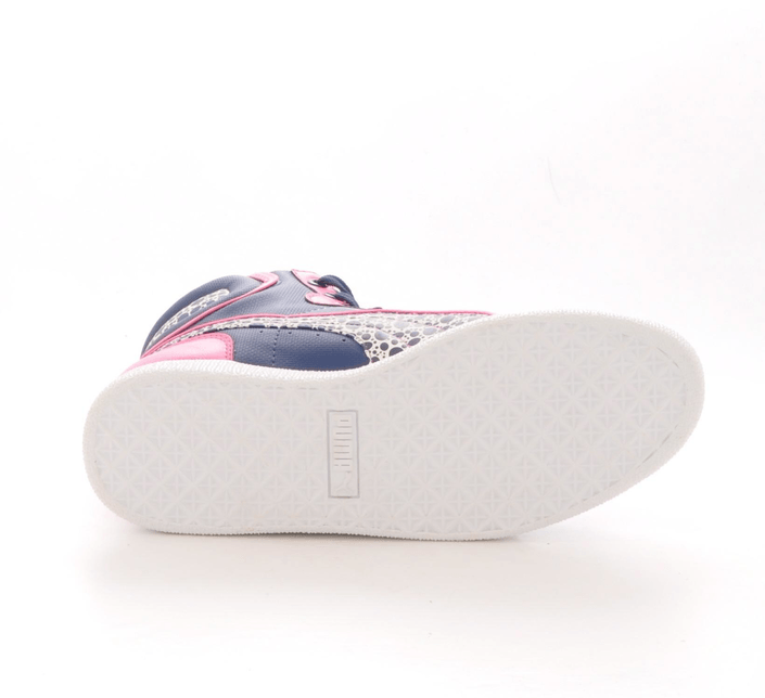 Puma - First Round Graphic Jr Pink-Blue