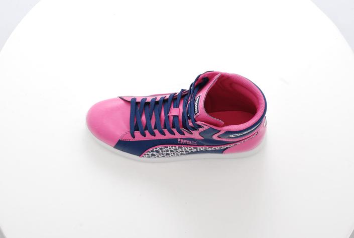 Puma - First Round Graphic Jr Pink-Blue