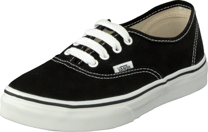 Vans K Authentic Black/True Whit