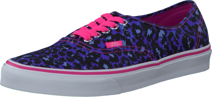 Vans U Authentic (Leopard/Skull) Blue/TrueWhite
