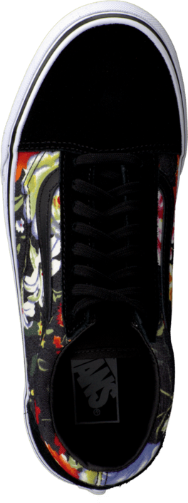 Vans - U Old Skool Floral  Black