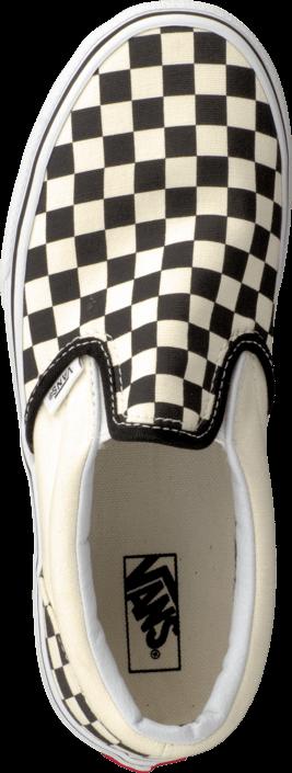 Vans K Classic Slip-On Checkerboard Black