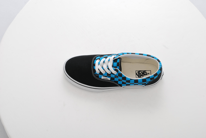Vans - K ERA Checkerboard Black/Blue