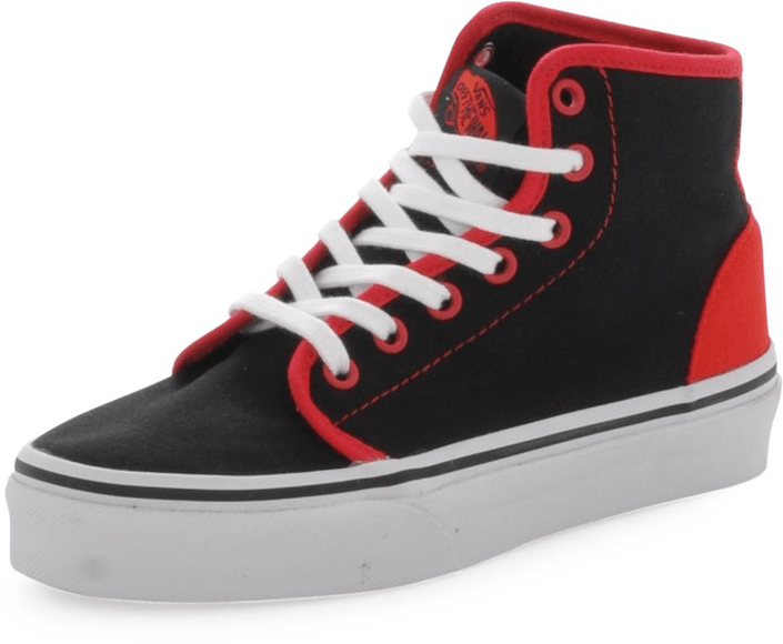 Vans - K 106 HI Pop Black/Red