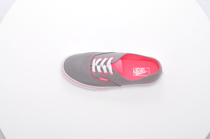 Vans - K Authentic Neon Pop Frost Grey/Pink