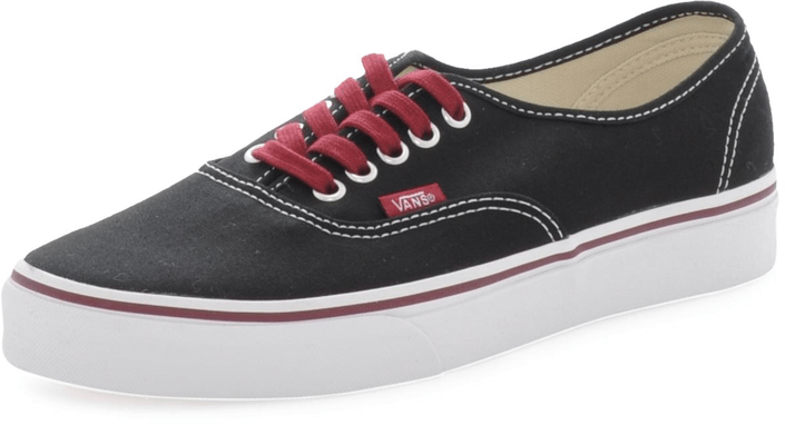 Vans - U Authentic Black/Tawny Port