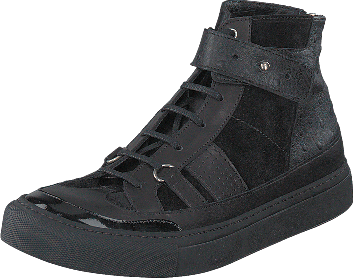 V Ave Shoe Repair - Snap Sneaker Black