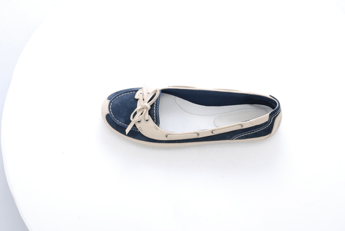 Timberland - EK Boothbay Boat Shoe Navy/Off White