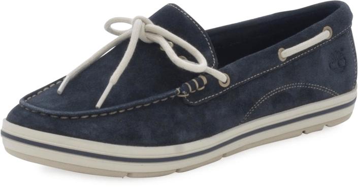 Timberland - EK Casco Bay Boat Shoe Navy Suede