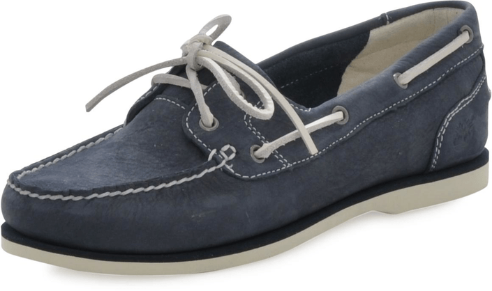 Timberland - EK Classic Unlined Boat Shoe Navy