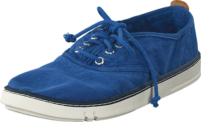 Timberland - EK Handcrafted Fabric Oxford Blue Canvas