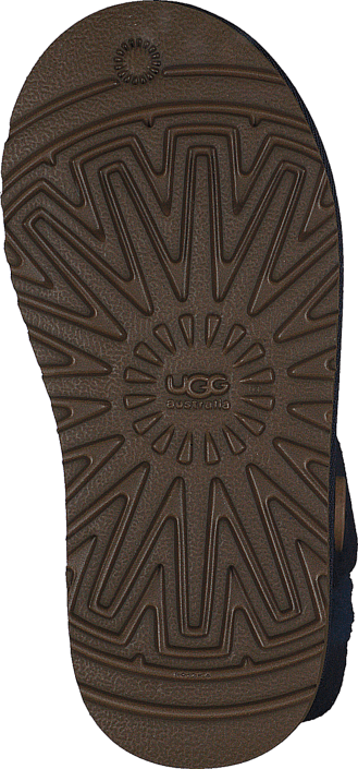 UGG Australia - K Bailey Button (Toddler) Navy Blue