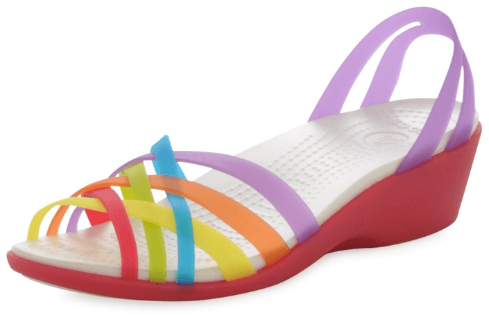 Crocs - Huarache Mini Wedge Multi