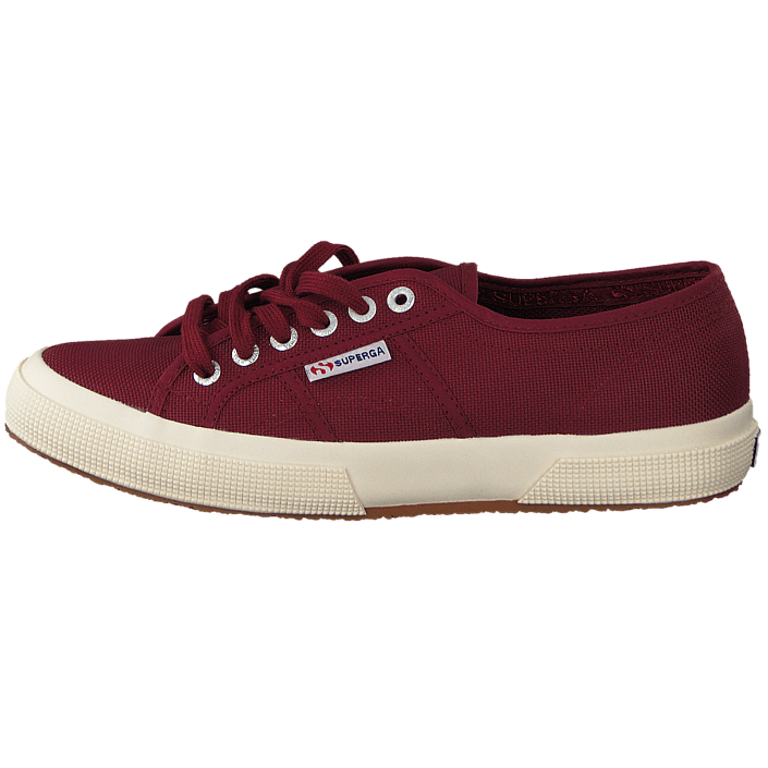 kauf superga 2750 cotu classic dark bordeaux rote schuhe online. Black Bedroom Furniture Sets. Home Design Ideas