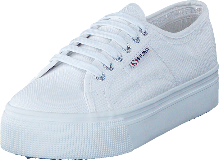 Superga Lady 2790-Cotw Linea and Down 901 white