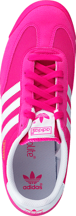 adidas Originals - Dragon J Shock Pink S16/Ftwr White