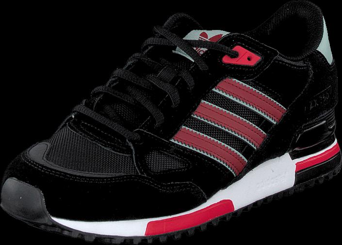 adidas Originals - Zx 750 Core Black/Rust Red/Mist Slate