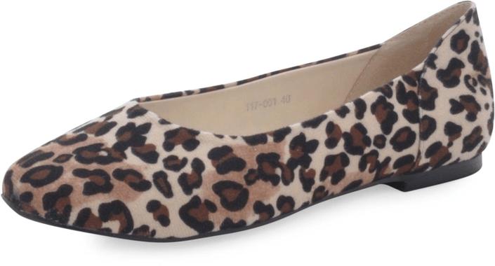 c9f969fd187 Köp Ballerina Closet Ms Plaza Leopard beige Skor Online | BRANDOS.se