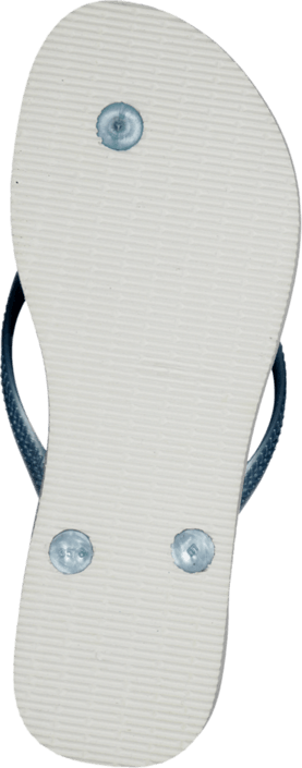 Havaianas - Kids Slim Princess White/Light Blue