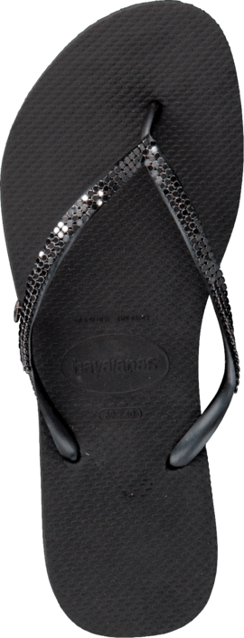 Havaianas - Slim Metal Mesh Black/Dark Grey