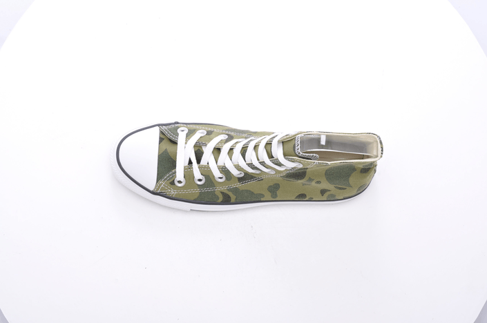 Converse - All Star Print Camo Hi Olive Branch