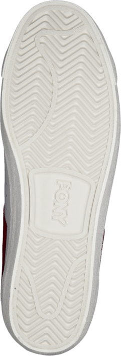 Pony - Topstar Ox Leather White Red