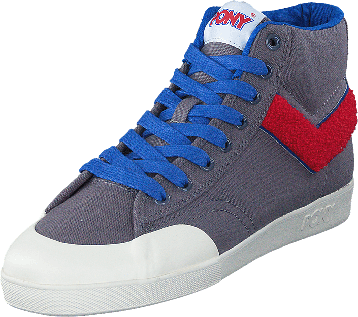 Pony - Vintage Slamdunk Grey Red