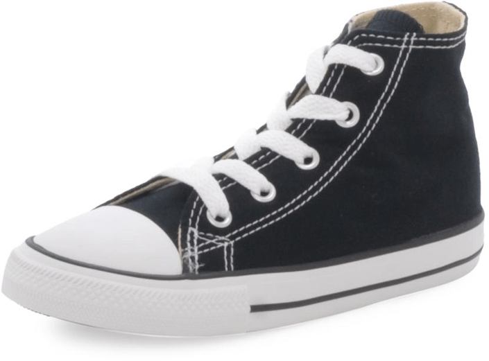 Converse - Small Star Canvas Hi Black