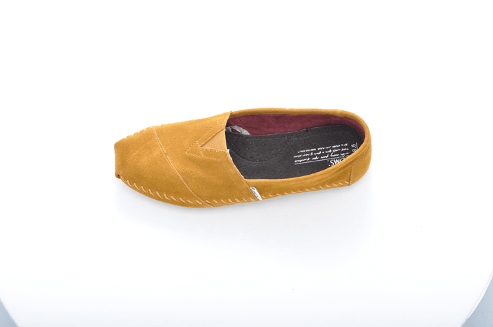 Toms - Moccassin Classics Gold Suede Moccasin