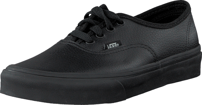 Vans - Authentic (Leather) Black/Black