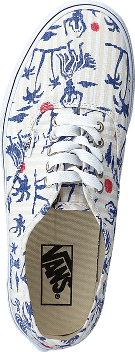 Vans - Authentic (Hula Stripes) True White