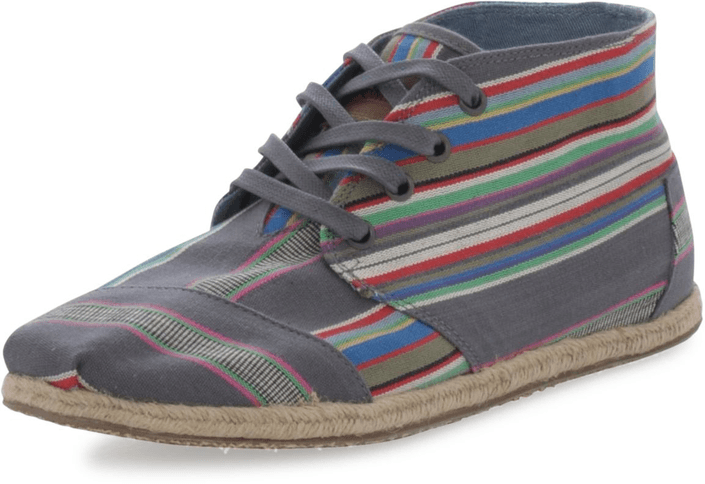 Toms - Desert Botas Denim Stripe