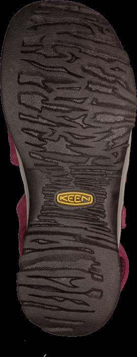 Keen - Rose Sandal Beet Red/Neutral Gray