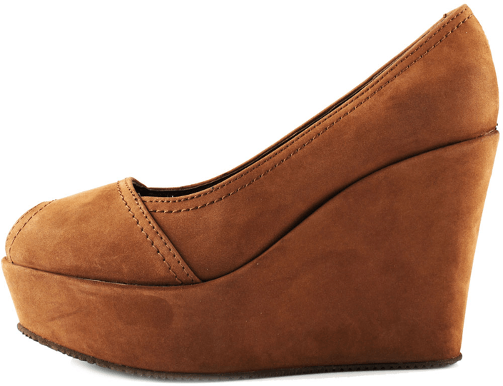 Shoe Biz - Nubuck Brown 2